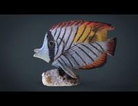 fish decorative 3d model