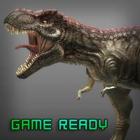 3ds max t-rex games