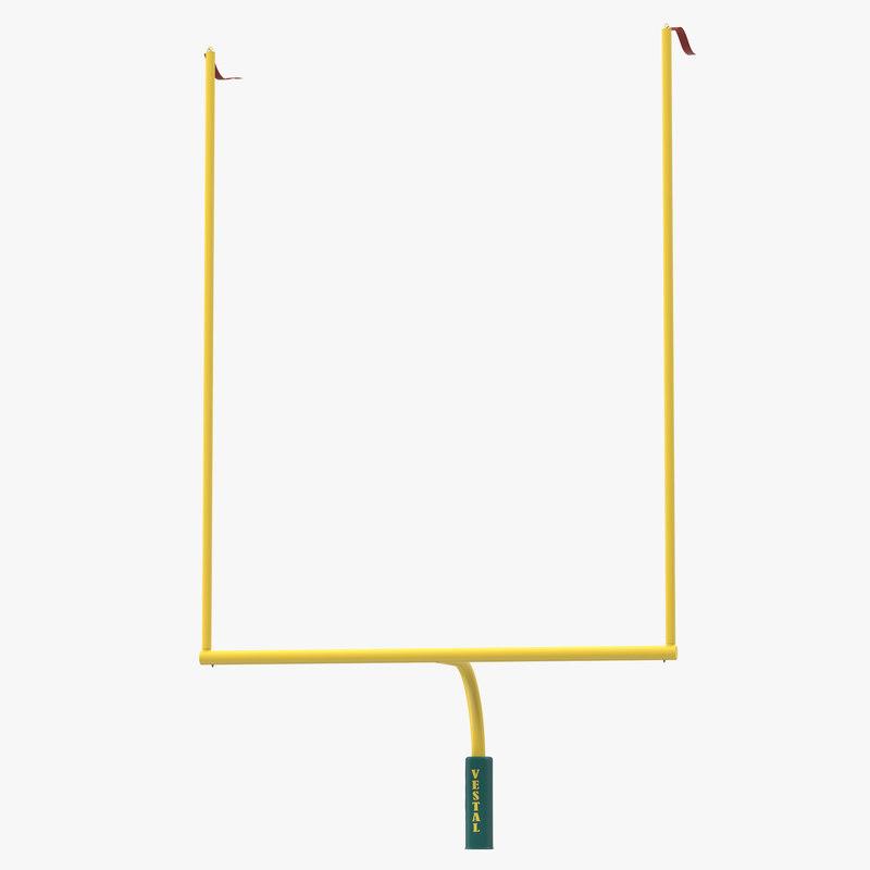 Football Uprights 3d model 00.jpg