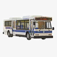 3d model mta new york city bus