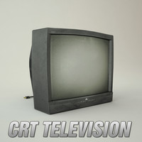 crt television 3ds