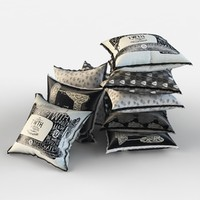 3d set pillows model