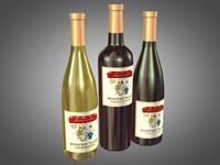 Bistro Wine Bottles