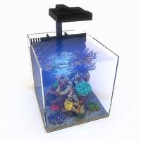 3d nano marine aquarium