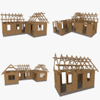 pack timber frame construction obj