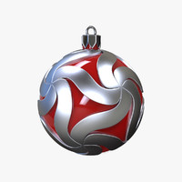 3ds design christmas ball