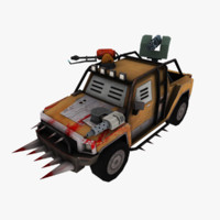 3d max jeep car