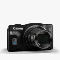 camera canon powershot sx700 3d model