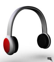 2016 headphones cartoon 3d ma