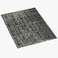 3d toulemonde bochart phantom rug model