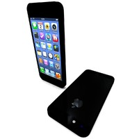 3d model iphone 5