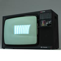 television crt 3d max