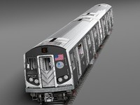 R160 Train New York City Subway