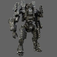 3d max robot biped