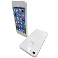 iphone 5 white 3d model
