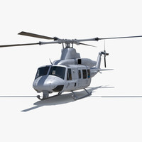 3d model bell uh-1y venom
