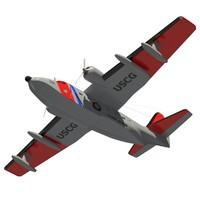 hu-16 albatross 3d max