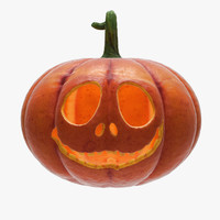 halloween pumpkin 3 3d max