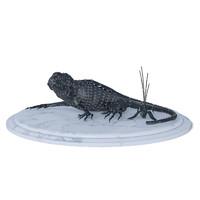 3d model iron lizard