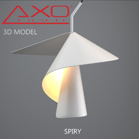 3d model of axo light spiry
