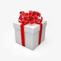 christmas present 3d model