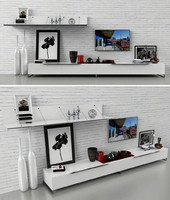 3d model tv sideboard stand