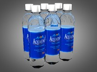 3ds 6 pack aquafina