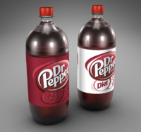 dr pepper 2 3d model