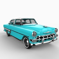 54 chevrolet bel air 3ds