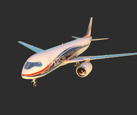 airplane ms-21 3d model