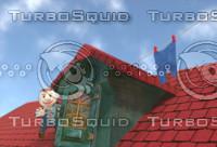 roof 3d blend