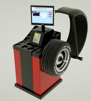 wheel balancing machine 3d model
