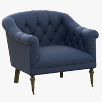 3d model eichholtz chair bentley