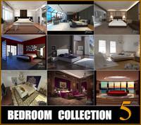 bedrooms scenes 3d max