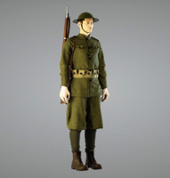 3d model british soldier ww1