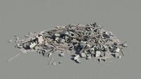 heap debris piles max
