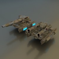 x scifi tanks