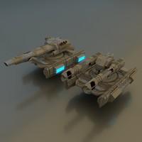 x scifi tanks