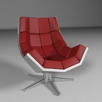 3d model rare chair