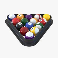 3ds pool balls