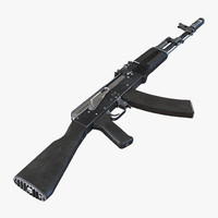 3ds assault rifle ak 74