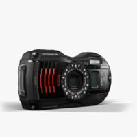camera ricoh wg-4 gps 3d fbx