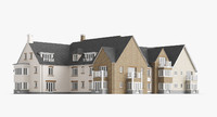 british house 3 3d model
