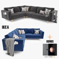 maya ikea morsborg corner sectional sofa