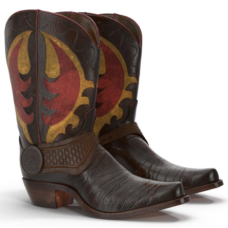 Cowboy Boots 3d models 01.jpg