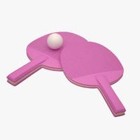 maya ping pong paddle