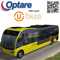 optare solo bus u-ov 3d model