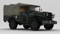 US Army Dodge WC-51