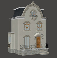 neoclassical doll house max