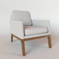 boconcept monte chair 3d max